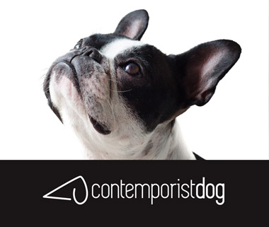 logo contemporist dog